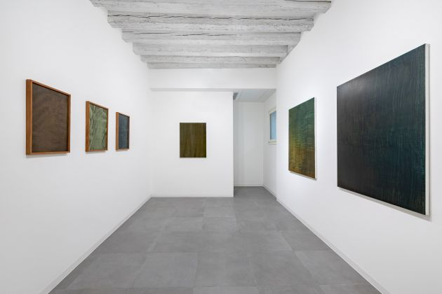 Giuseppe Adamo, Landing, installation view at Marignana Arte, Venezia 2019, photo Enrico Fiorese