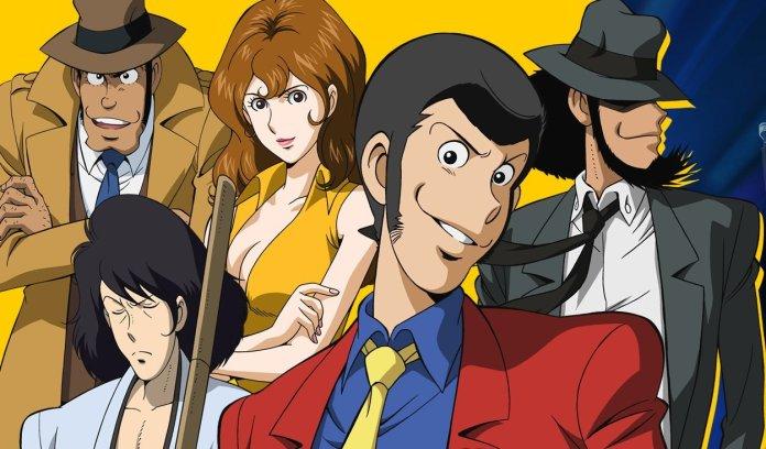 I protagonisti della serie Lupin III