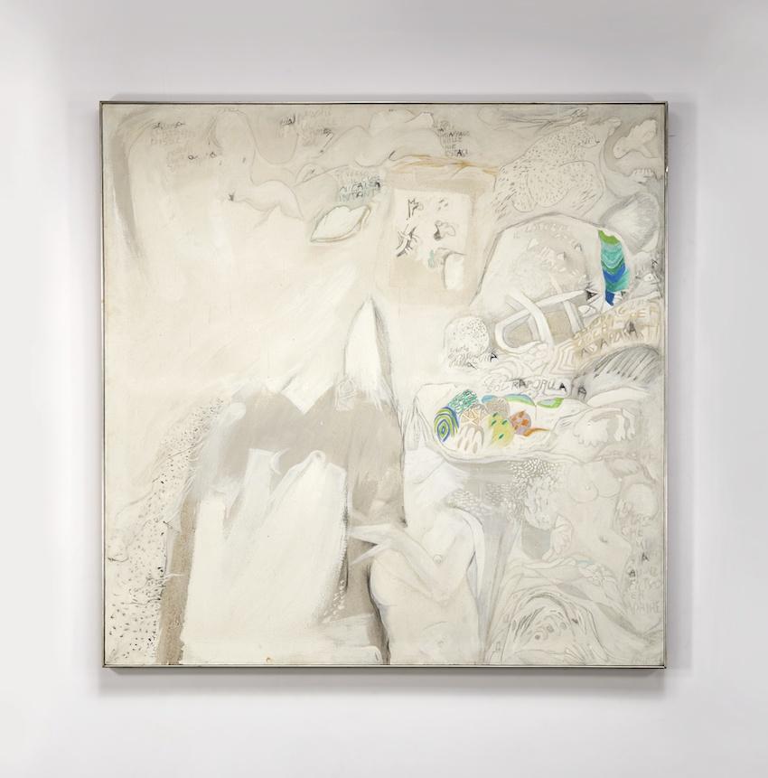Gastone Novelli, NEL CIECO SPAZIO, 1964 € 360,500 @ Sotheby's Milano, 11 aprile 2019