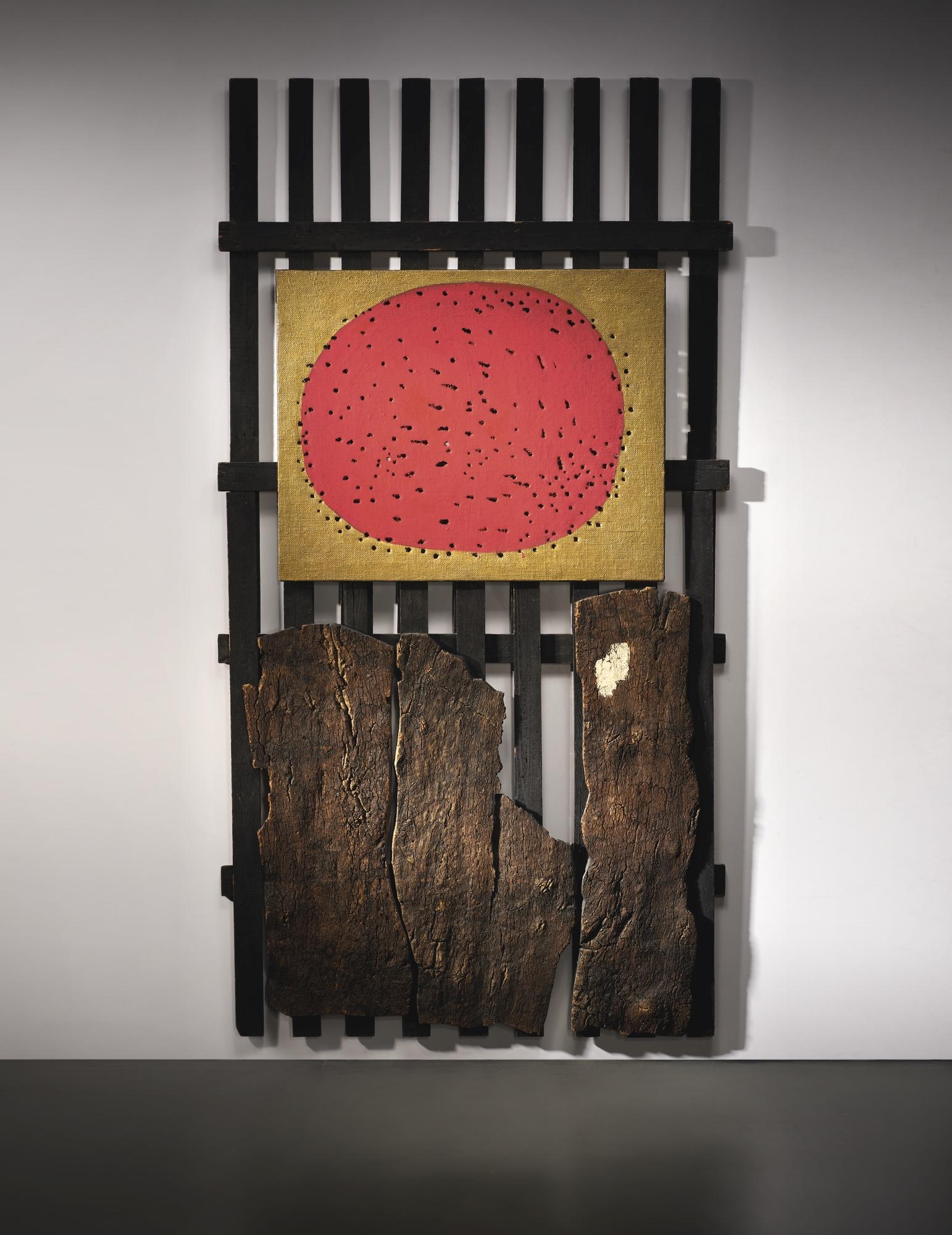 Lucio Fontana e Roberto Crippa, VENERDÌ SANTO A MADRID, 1960 € 756,500 @ Sotheby's Milano, 11 aprile 2019