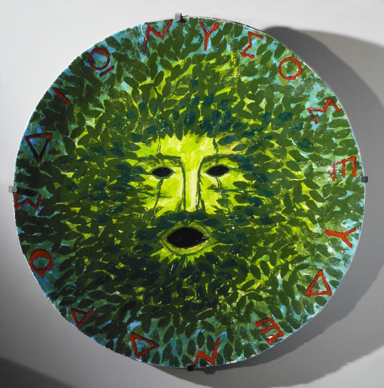 Joe Tilson, Dionysos eydendros. Museo del Vino di Torgiano