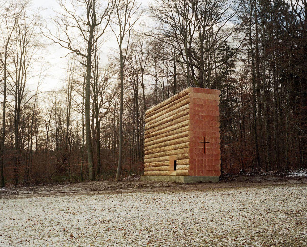 John Pawson, Wooden chapel Unterliezheim, Germany. Photo Felix Friedman