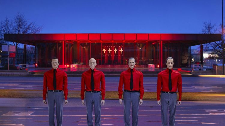Kraftwerk, The Robots 3D concert, Neue Nationalgalerie, Berlin, 2015 © Peter Boettcher, Courtesy Sprüth Magers