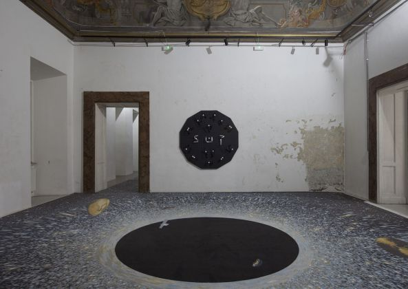 Luca Pozzi. Degrees of Freedom. Installation view at Contemporary Cluster, Roma 2019. Photo Francesco Casarin