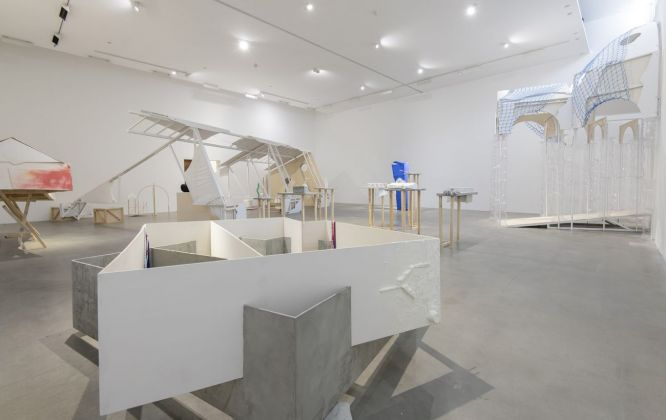 Ludovica Carbotta. Monowe. Exhibition view at Fondazione Sandretto Re Rebaudengo, Torino 2019. Photo credits Giorgio Perottino