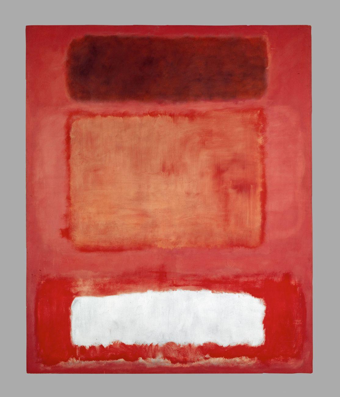 Mark Rothko, No. 16 – Red, White and Brown, 1957 © 1998 Kate Rothko Prizel & Christopher Rothko_Bildrecht, Wien, 2019. Photo © Kunstmuseum Basel