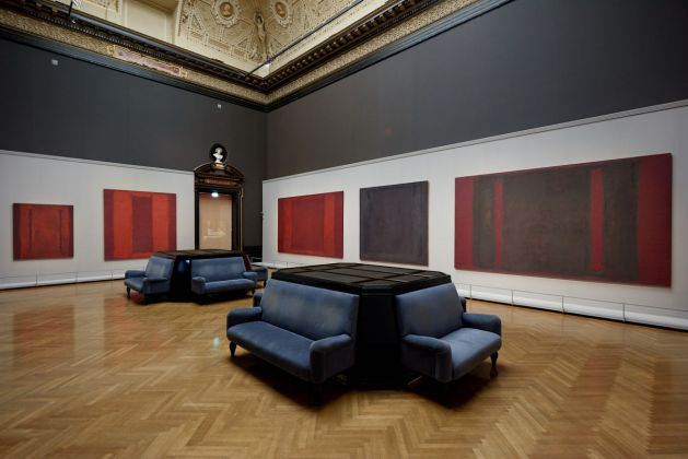 Mark Rothko. Installation view at Kunsthistorisches Museum © 1998 Kate Rothko Prizel & Christopher Rothko_Bildrecht, Wien, 2019. Photo KHM Museumsverband