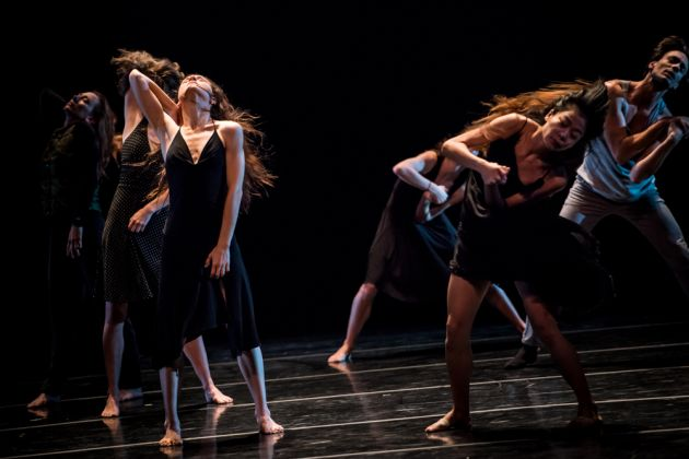 Photo of Martha Graham Dancers in Larry Keigwin's Lamentation Variation by Christopher Jones