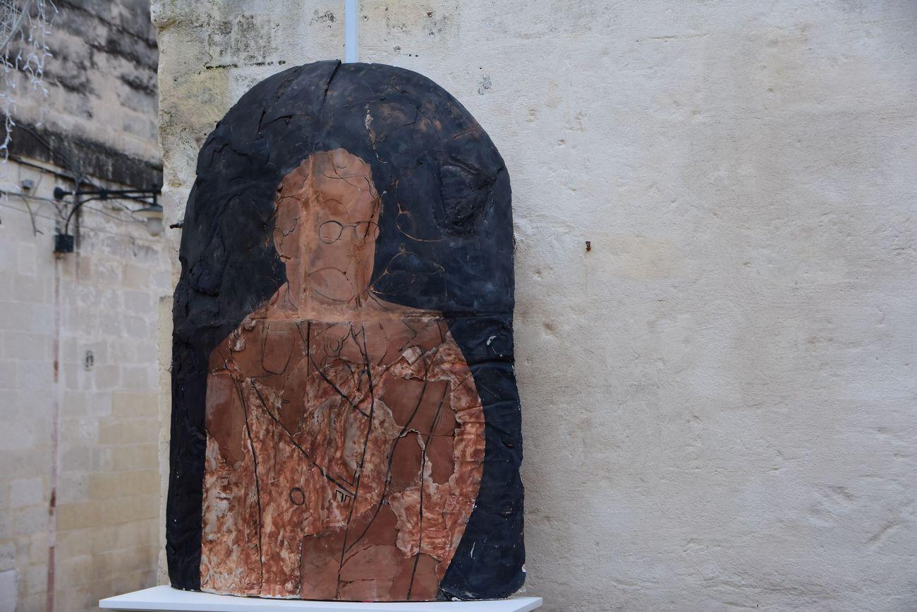 Matera Alberga. Filippo Riniolo, Rapporti. Locanda di San Martino, Matera. Photo Michelangelo Camardo