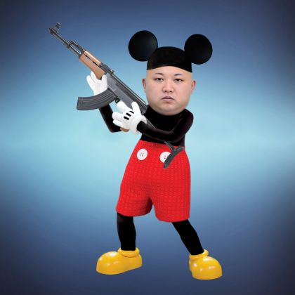 Max Papeschi, Make Pyongyang Great Again, Digital art. Courtesy of © Max Papeschi