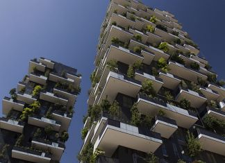 Milano, Bosco Verticale by Stefano Boeri Studio. Photo Claudia Zanfi