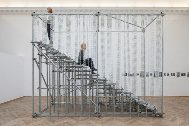 Monica Bonvicini, Scale of Things (to come), 2010. Installation view, Europa Endlos, Kunsthal Charlottenborg, 2019. Courtesy Monica Bonvicini. Photo Anders Sune Berg