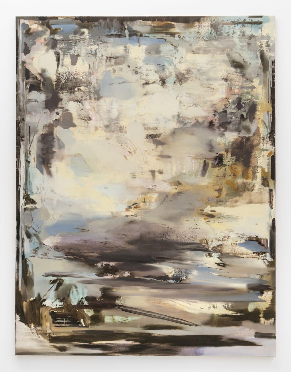 Nazzarena Poli Maramotti, Enza, 2019, tecnica mista su tela, 170x130 cm. Photo credit Masiar Pasquali