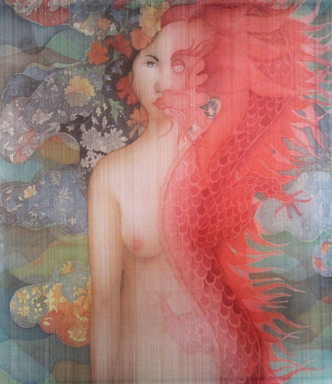 Nguyen Thi Chau Giang, Becoming Dragon, 2018. Courtesy Vin Gallery, Ho Chi Minh City Penang