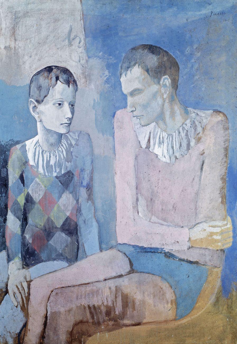 Pablo Picasso, Acrobate et jeune arlequin, 1905. Collezione privata © Succession Picasso - 2018, ProLitteris, Zurigo