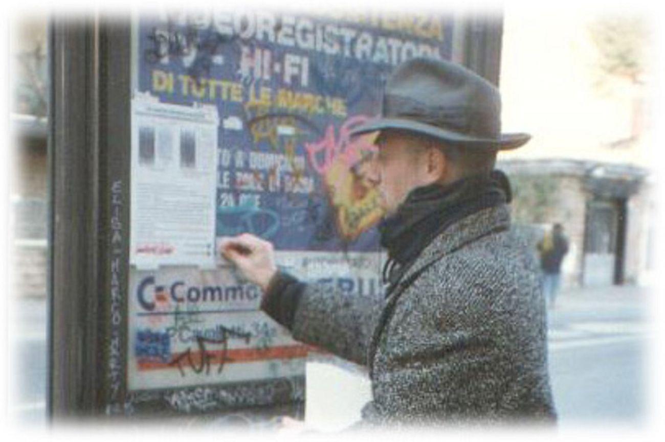 Pino Boresta, P.B.A. – Progetto Biglietto Arte, 1995