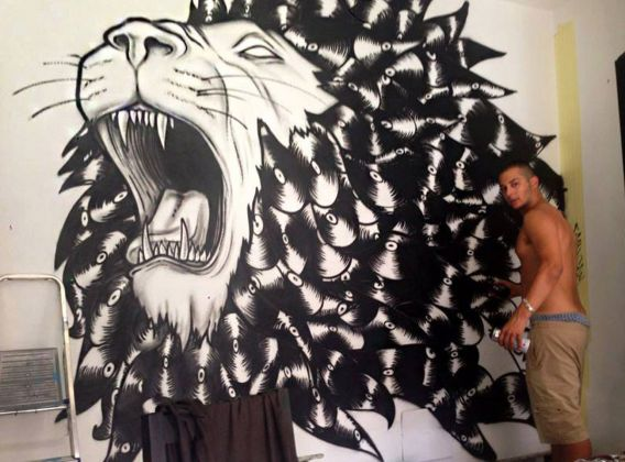 Rancy, Vynil Lion, Milano, 2014