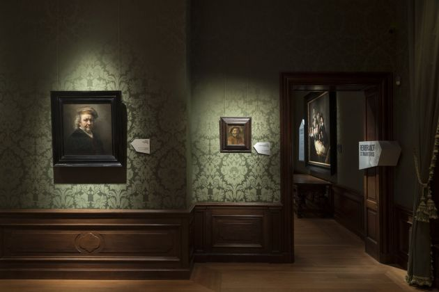 Rembrandt and the Mauritshuis. Exhibition view at Mauritshuis, L'Aia 2019. Photo Ivo Hoekstra