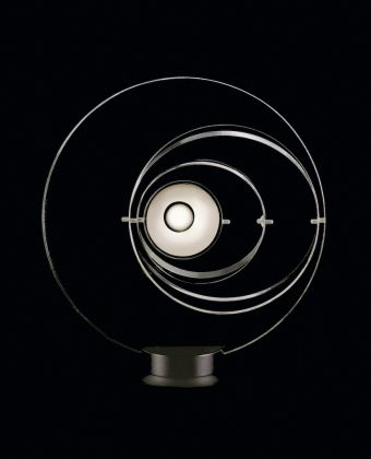Satellite lamp designed by Yonel Lebovici for Pierre Cardin, 1969. Photo courtesy of Archives Pierre Cardin. © Archives Pierre Cardin