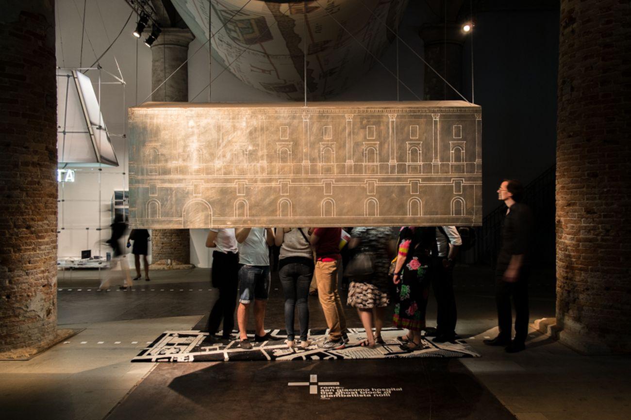 Studio stARTT3, Il fantasma del Nolli, Biennale di Architettura, Venezia 2014. Courtesy stARTT