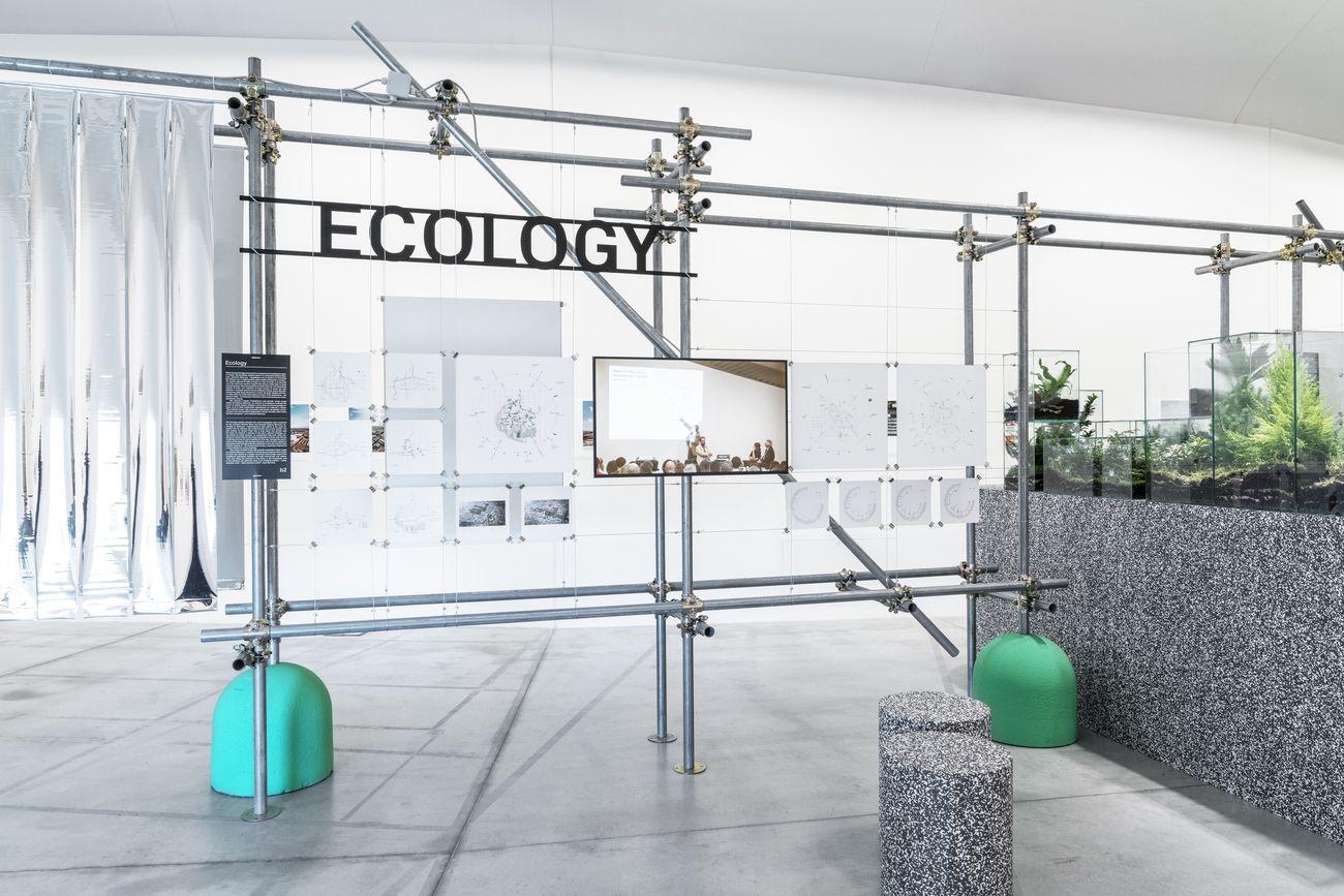 Verde Prato. Exhibition view at Centro Pecci, Prato 2019. Photo OKNOstudio