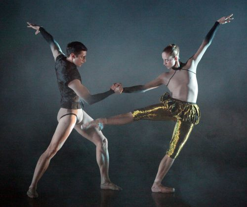 Wayne McGregor, Woolf Works. Becomings. Virna Toppi & Nicola Del Freo. Photo Brescia e Amisano Teatro alla Scala