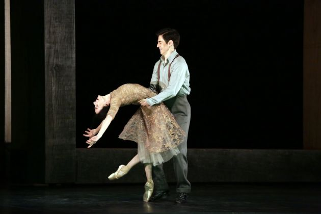 Wayne McGregor, Woolf Works. I now I then. Alessandra Ferri & Federico Bonelli. Photo Brescia e Amisano Teatro alla Scala