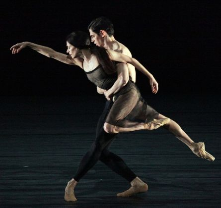 Wayne McGregor, Woolf Works. Tuesday. Alessandra Ferri & Federico Bonelli. Photo Brescia e Amisano Teatro alla Scala