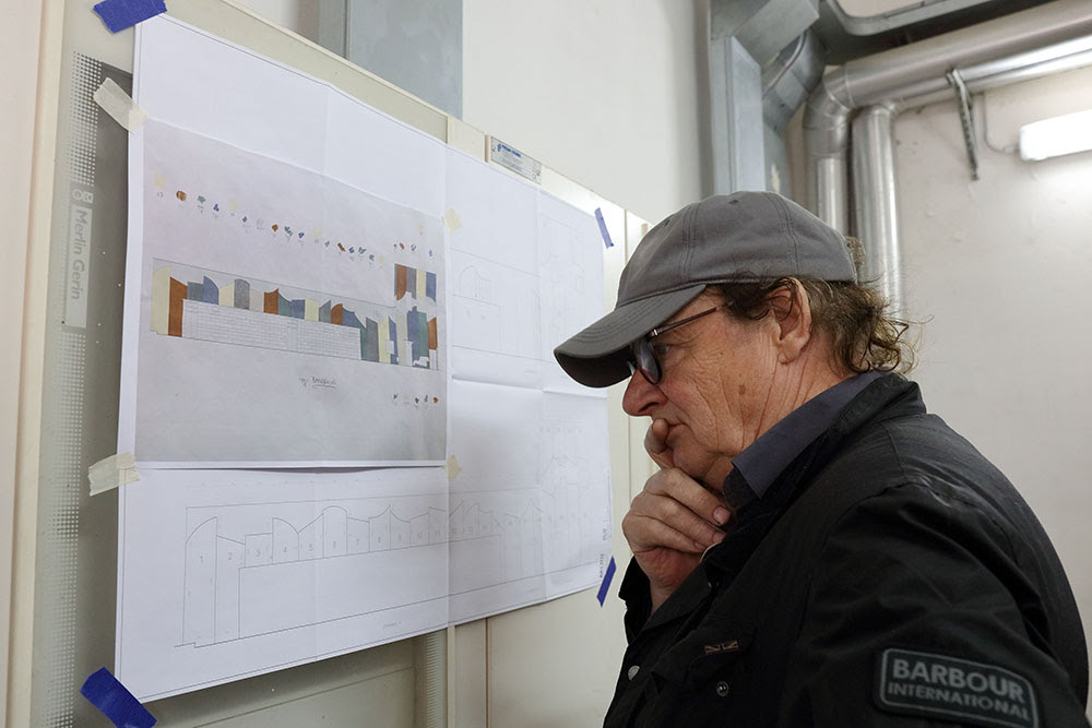 L'opera di David Tremlett a Bari