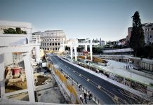 Roma, Fori Imperiali station - Courtesy World Tunnel Congress