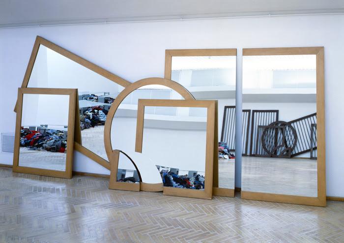 Michelangelo Pistoletto, Il disegno dello specchio, 1979