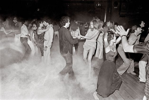 Bill Bernstein, dance floor al Xenon, New York, 1979. 