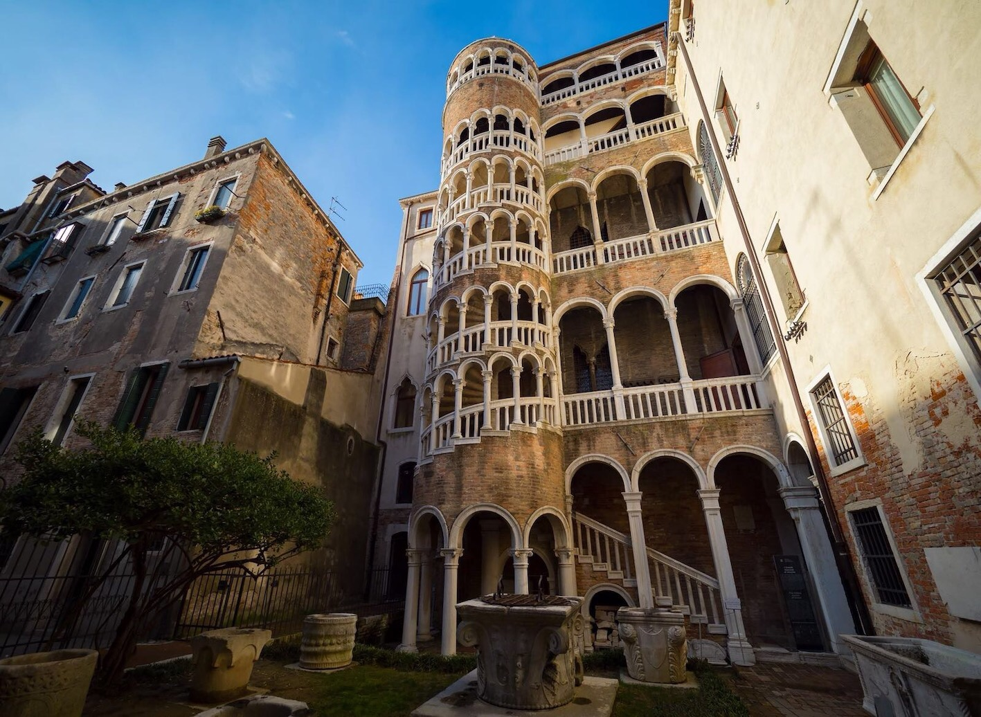 Scala di Palazzo Contarini del Bovolo, Venezia