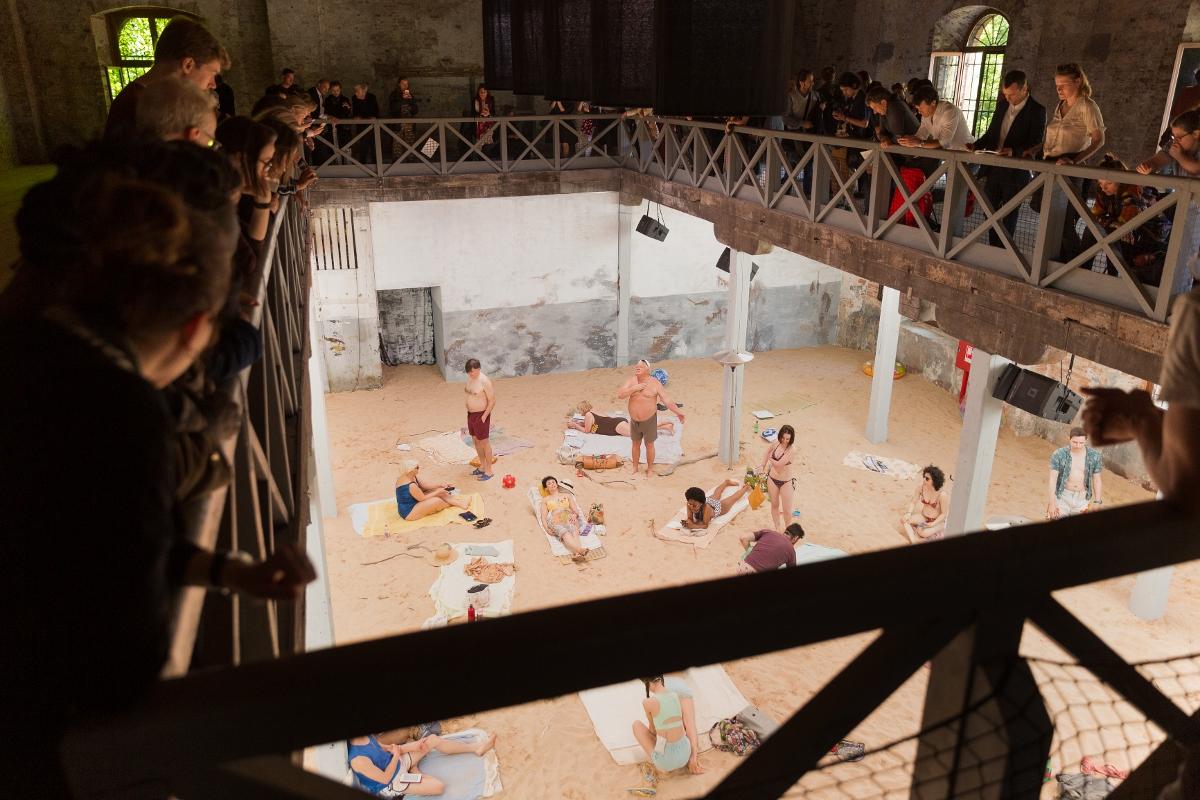 Rugile Barzdziukaite, Vaiva Grainyte, Lina Lapelyte, Sun _ Sea (Marina), opera-performance, Biennale Arte 2019, Venice © Andrej Vasilenko
