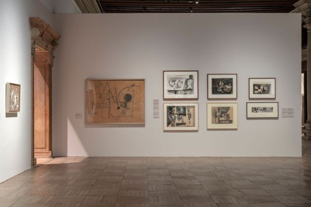 Arshile Gorky. 1904-1948. Installation views at Ca' Pesaro – Galleria Internazionale d'Arte Moderna, Venezia 2019 © 2019 The Arshile Gorky Foundation - Artists Rights Society (ARS), New York. Photo Lorenzo Palmieri
