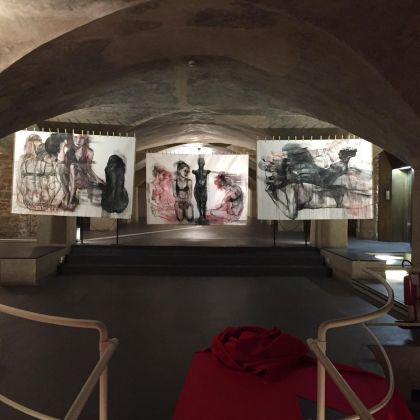 Accents. Exhibition view at Museo Marino Marini, Firenze 2019