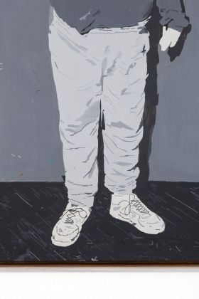 Andrea Carpita, Cigarette and Stains, 2019 (detail)