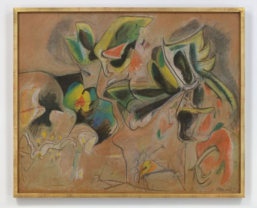 Arshile Gorky, Apple Orchard, 1943-46 ca. Collezione Agnes Gund. Photo Genevieve Hanson