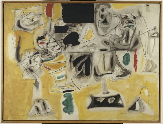 Arshile Gorky, Landscape Table, 1945. Paris, Centre Pompidou, Musée national d'art moderne