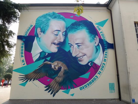 Super Walls, Anniversario Falcone e Borsellino