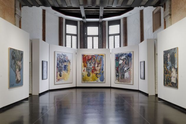 Baselitz Academy, installation view at Gallerie dell'Accademia, Venezia 2019, photo Andrea Sarti