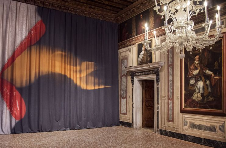 Brigitte Niedermair. Me and Fashion 1996 2018. Installation view at Museo di Palazzo Mocenigo, Venezia 2019
