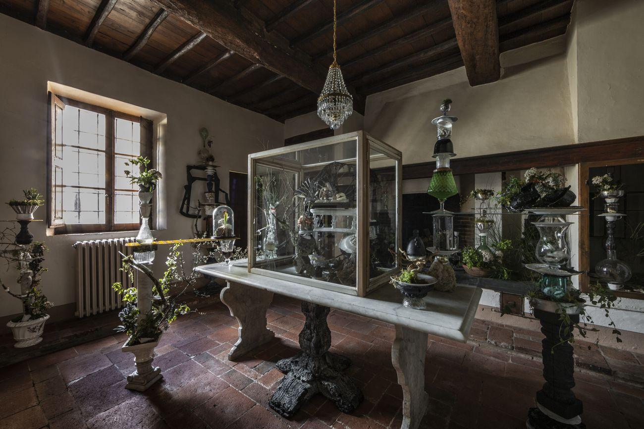 Chiara Bettazzi, installation view at Castello di Ama, 2019, photo Alessandro Moggi