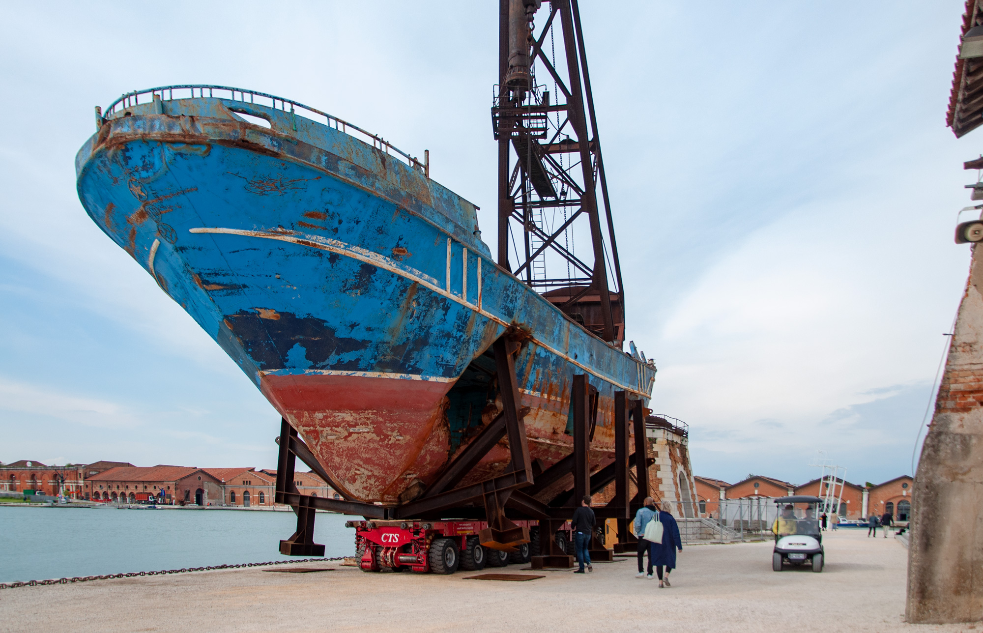 Christoph Büchel, Barca Nostra, Venezia, 2019. Ph. Irene Fanizza