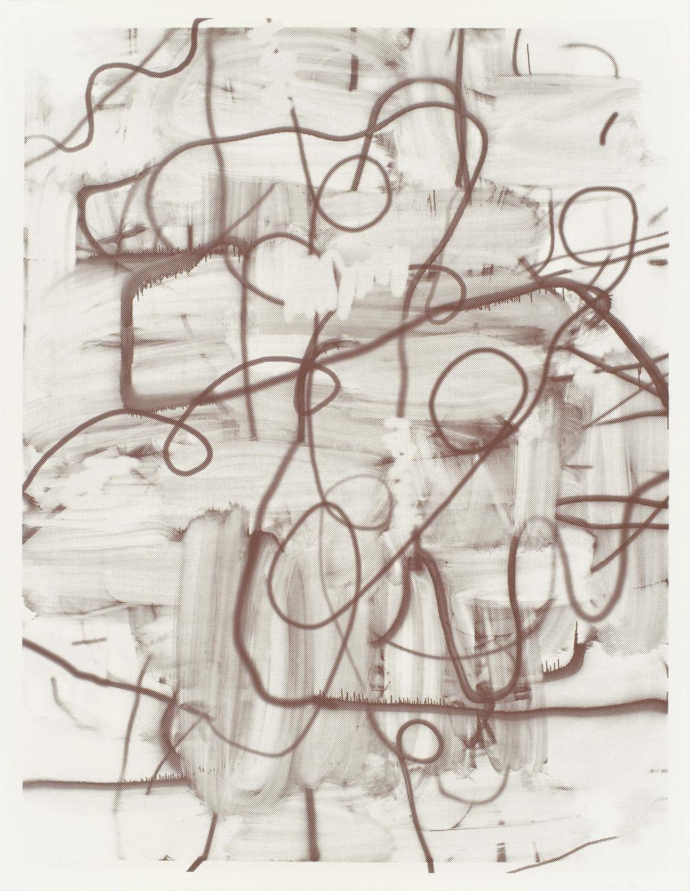 Christopher Wool, Untitled, 2006. Collezione Giancarlo e Danna Olgiati