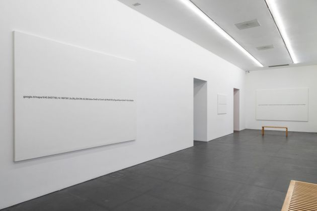 Domenico Antonio Mancini. Landscapes. Installation view at Galleria Lia Rumma, Napoli 2019. Photo credit © Danilo Donzelli  Domenico Antonio Mancini. Courtesy Museo Civico Filangieri. Courtesy Galleria Lia Rumma, Milano-Napoli