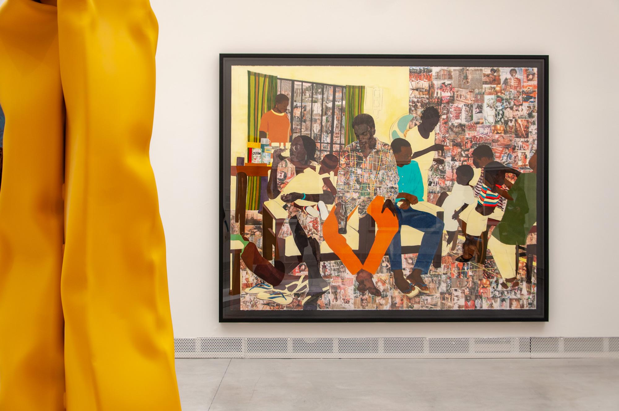 Padiglione Centrale Giardini, Biennale Arte 2019, Njideka Akunyili Crosby ph. Irene Fanizza