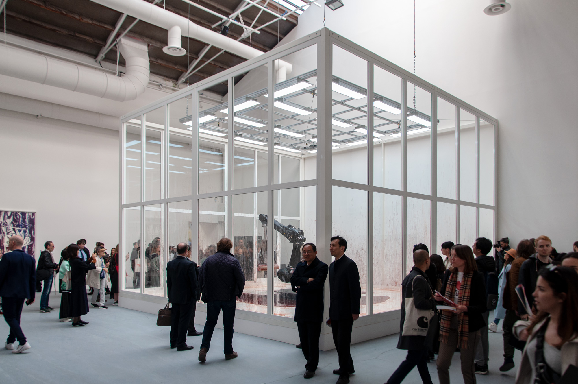 Padiglione Centrale Giardini, Biennale Arte 2019, Sun Yuan e Peng Yu, ph. Irene Fanizza