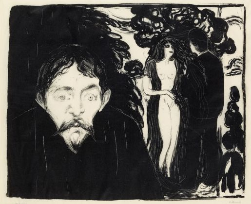 Edvard Munch, Jealousy II, 1896. © The Trustees of the British Museum