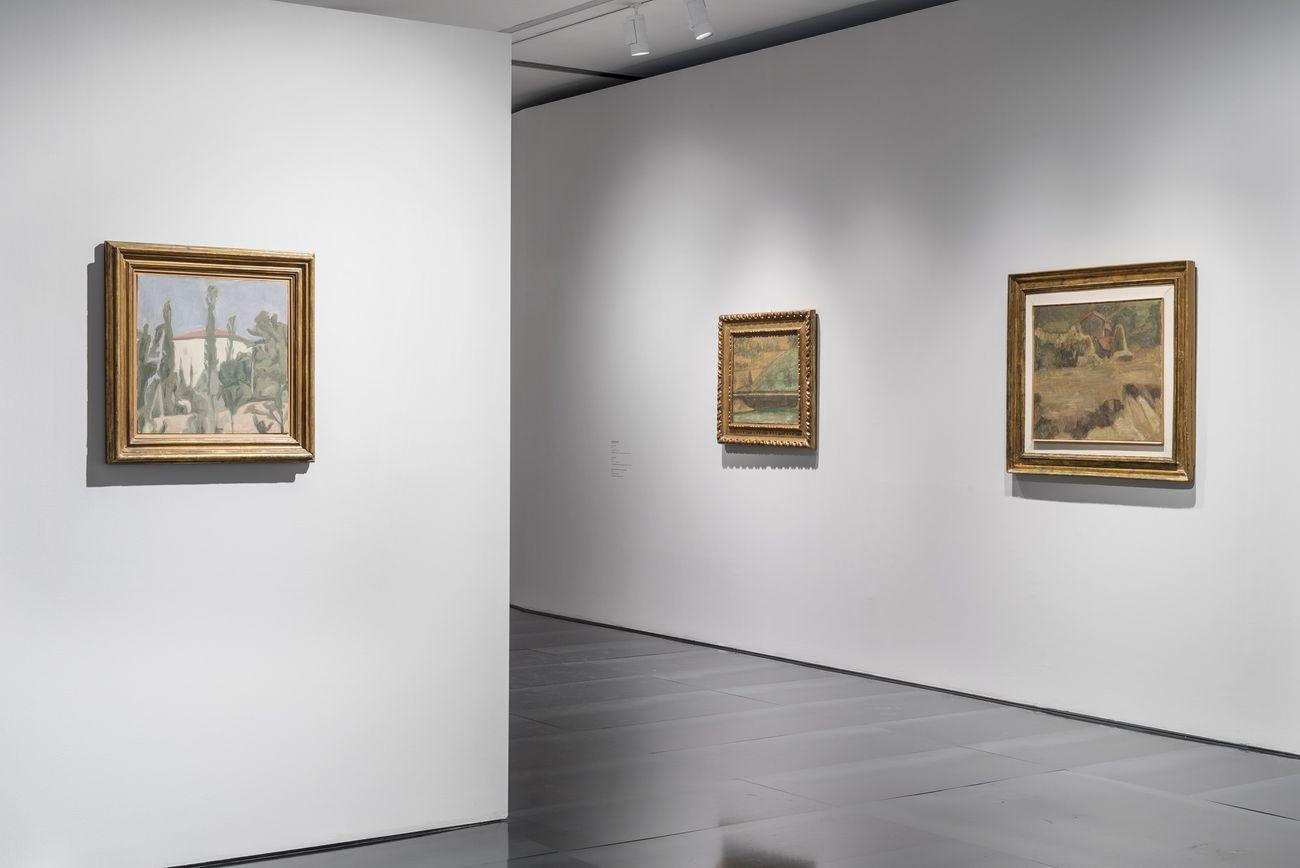 Exit Morandi. Exhibition view at Museo Novecento, Firenze 2019